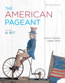 The American Pageant  Volume 1