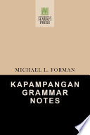 Kapampangan Grammar Notes