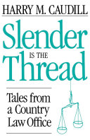 Slender Is The Thread Pdf/ePub eBook