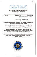 Pdf Colonial Latin American Historical Review