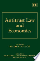 Antitrust Law and Economics