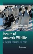 Pdf Health of Antarctic Wildlife
