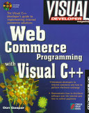 Web Commerce Programming with Visual C   Book