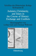 Judaism  Christianity  and Islam in the course of history