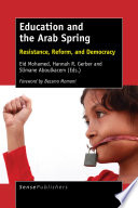 Education and the Arab Spring