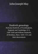 Danforth genealogy