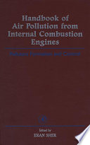 Handbook of Air Pollution from Internal Combustion Engines