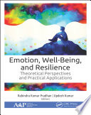 Emotion, Well-Being, and Resilience