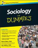 Sociology For Dummies Pdf/ePub eBook