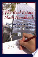 The Real Estate Math Handbook Book