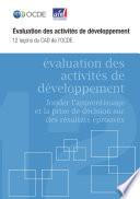 Cover image of Évaluation des activités de développement : Douze leçons du CAD de l'OCDE.