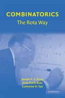Combinatorics  The Rota Way