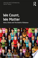 We Count We Matter