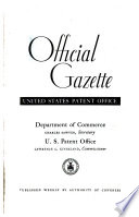 Official Gazette Of The United States Patent Office
