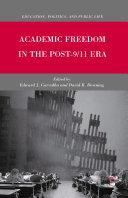 Academic Freedom in the Post-9/11 Era [Pdf/ePub] eBook