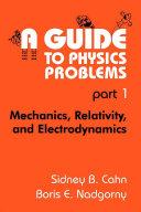 A Guide to Physics Problems [Pdf/ePub] eBook