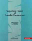 Quantum Theory of Angular Momentum [Pdf/ePub] eBook