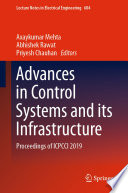 Advances in Control Systems and its Infrastructure Book