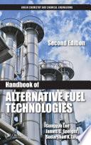 Handbook of Alternative Fuel Technologies Book
