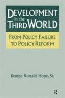 Development in the Third World
