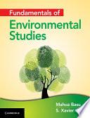 Fundamentals of Environmental Studies Book