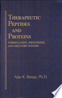 Therapeutic Peptides And Proteins Book PDF