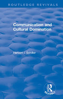 Pdf Revival: Communication and Cultural Domination (1976) Telecharger