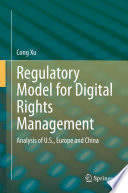 Regulatory Model for Digital Rights Management Book