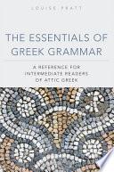 The Essentials of Greek Grammar