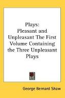 Plays: Pleasant and Unpleasant Pdf/ePub eBook
