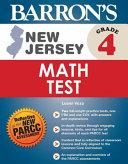 Barron's New Jersey Grade 4 Math Test