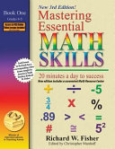 Mastering Essential Math Skills  Book 1  Grades 4 and 5  20 Minutes a Day to Success Book