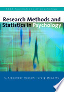 Research Methods and Statistics in Psychology Book