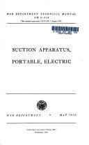Suction Apparatus  Portable  Electric