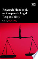 Research Handbook On Corporate Legal Responsiblity