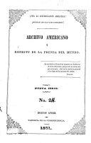 Archivo americano y espíritu de la prensa del mundo