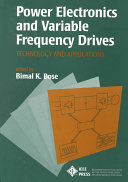 Power Electronics And Variable Frequency Drives Book PDF
