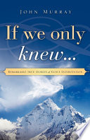If We Only Knew    Book PDF