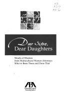Dear Sisters  Dear Daughters Book PDF