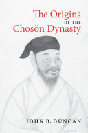 The Origins of the Choson Dynasty Pdf/ePub eBook