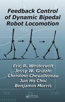 Pdf Feedback Control of Dynamic Bipedal Robot Locomotion Telecharger