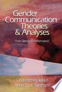 Gender Communication Theories And Analyses