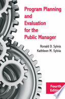 Program Planning and Evaluation for the Public Manager Book PDF