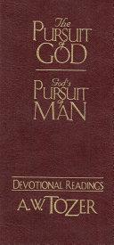 Pdf The Pursuit of God / God's Pursuit of Man Devotional Telecharger