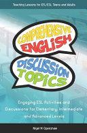 Comprehensive English Discussion Topics