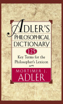 Adler s Philosophical Dictionary