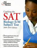 Biology E M Subject Test