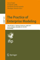 The Practice of Enterprise Modeling