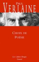 Pdf Choix de poésie Telecharger