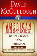Pdf David McCullough American History E-book Box Set Telecharger